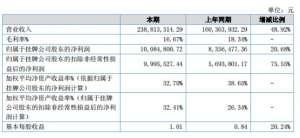 力美照明披露2018年年报,营收增长48板材生产线.92%板材生产线